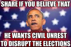 martial law --- no elections and he stays in office (Let's put it this way...it sure wouldn't surprise me!!!)