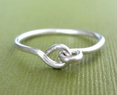 HOLDING HANDS sterling silver wire ring by Mu-Yin Jewelry (aka muyinmolly on Etsy)