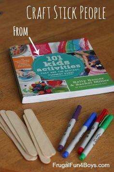 Craft Stick People - A simple craft!