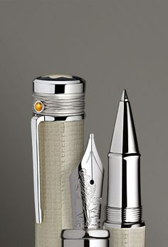 Mont Blanc Limited Edition Mahatma Gandhi Fountain Pen - I don't admire Gandhi, but the pen itself is a work of art.