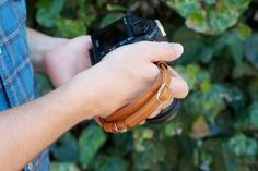 The Handy Dandy Hand Strap keeps your camera snug and secure in the palm of your hand. $40
