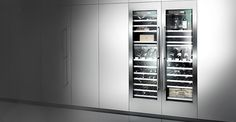 Gaggenau's RW464 wine cooler is perfect for serious wine buffs
