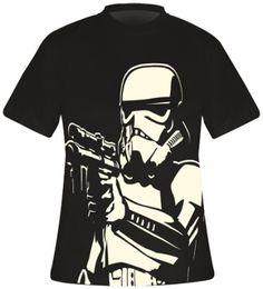 T-Shirt Mec STAR WARS - Stormtrooper Big