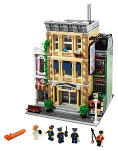 10278 Lego Polizeistation, Lego Ninjago, Legos, Lego City Police Station, Lego Police, Model Building Kits, Lego Building, Lego Creator, The Creator