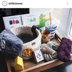 My pal @driftknitwear is doing a fun giveaway over on her profile and you could win all of the things in this picture (including two of my paper village kits ) Head over and look for this image in her feed for the instructions to enter!......... #yeioupaperobjects #papergoods #paperplay #madeinsomerville #madebyhand #handmadelife #tinyhouse