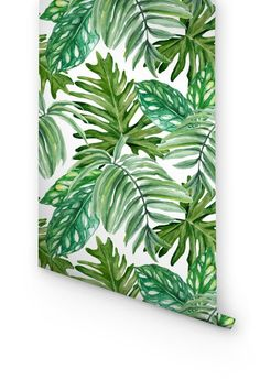 DESCRIPTION Exotic leaves wallpapers from Wallflora are designed to give an entirely new look to the walls of your room. These are easily removable wallpapers which can be easily attached to the walls