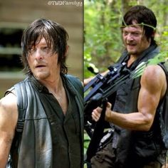 Daryl Dixon in action