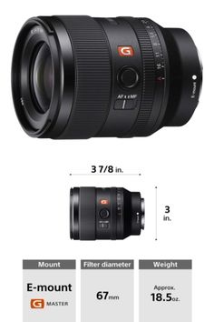 Compact wide prime lens w/ stunning G Master bokeh and resolution F1.4 max aperture for extraordinary brightness and depth of field Two (XA) Extreme Aspheric elements for stunning resolution #lens #highqualitylens #photography #photographer #Photos #NewYorkCity #Amazon #amazonbestseller #cameralens #camera #cameras #PhotoOfTheDay #PhotoMode #bestlens #amazonproducts #amazonelectronics #electronics #photolover #photograpylover #marketing #digitalmarketing Amazon Electronics, Prime Lens, Depth Of Field, Aperture, Wide Angle, Camera Lens, Best Sellers, Sony, Digital Marketing