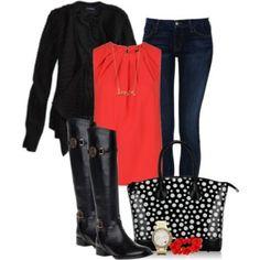 Black & Red!