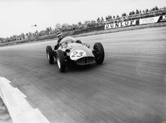 Mike Hawthorn, BRM in Silverstone 1956