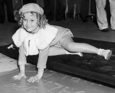 Shirley Temple. March, 1935