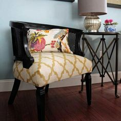 Makeover: Cane Chairs and Tutorial