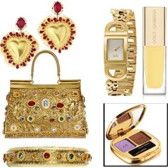 """Goldy of D"" by dahliafahrian on Polyvore"