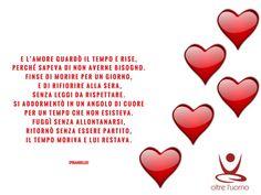 L'amore è oltre l'uomo, oltre il tempo, oltre tutto, oltre...