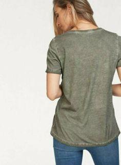 °2 Shirt von Aniston mit modischem Druck und lässiger From in grau Gr.40,42,44