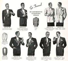 1930s Formal Menswear