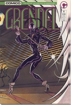 Grendel (#6) - cover by Arnold and Jacob Pander