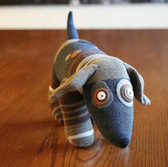 the sock dog I love the sock dog.I love the sock dog. Sock Crafts, Horse Crafts, Sock Puppets, Sock Toys, Fabric Toys, Paper Toys, Sock Animals, Clay Animals, Sewing Toys
