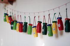 Reusing Actimel and Yakult (probiotic drinks) bottles #diy #reuse #recycle #upcycle | ecogreenlove