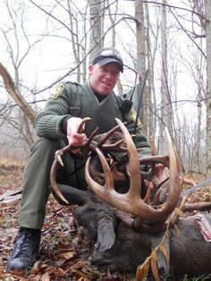 Deer Hunting in Ohio - Bucks Locked