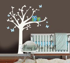 BEST VALUE Nursery vinyl wall decal Nursery Heart by missymoovinyl, $85.00