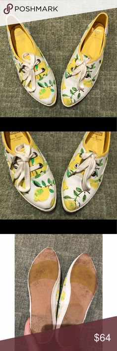 Kate spade lemon meds NWOT- worn around the store and my house but never in the street kate spade Shoes Sneakers