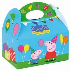 Peppa Pig Party Food Boxes