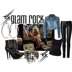 80's glam rock fashion - Google Search