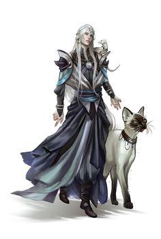 Archetypes - Blue Rose, Marie Magny on ArtStation at https://www.artstation.com/artwork/o8XLJ
