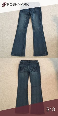 """Delia's """"Bailey"""" Jeans In great condition, no rips, stains, etc. Delia's Jeans Flare & Wide Leg"""