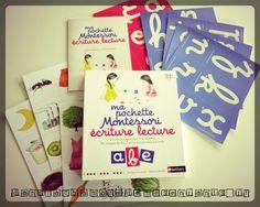 Livre enfants - Ma pochette Montessori - écriture lecture - Editions Nathan