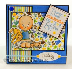 Stamping Bella's spit happens by CheriB Designs