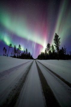 Road to Aurora by Justin Reznick on 500px.... #arctic #auroraborealis #landscape…