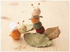 アイデアひとつで、こんな可愛い お人形も作れちゃう。