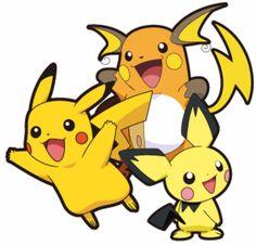 Image - Pichu , Pikachu y Raichu. Pichu Pikachu Raichu, Pikachu Art, Pokemon Pokedex, Pokemon Room, Pokemon Pins, All Pokemon, Pokemon Stuff, Pokemon Games, Pikachu Evolution