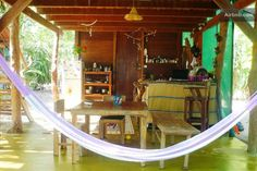 Outdoor kitchen in costa rica vacation rental.