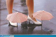 Schuhregenschirme