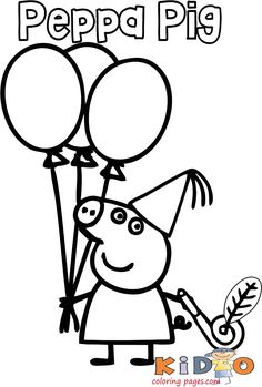 Peppa pig happy birthday coloring pages - Kids Coloring Pages Peppa Pig Coloring Pages, Giraffe Coloring Pages, Happy Birthday Coloring Pages, Coloring Pages For Kids, Peppa Pig Drawing, Peppa Pig Happy Birthday, Drawing Books For Kids, Halloween Coloring Sheets, Pig Halloween