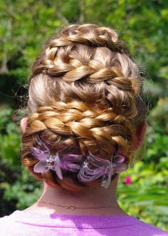 Braids & Hairstyles for Super Long Hair: Lattice Braid