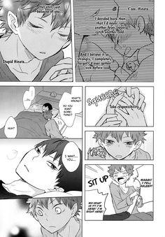 Page 24 #Kagehina #Kageyama #Tobio #Hinata #Shouyou #doujinshi #Sweet #love #adorable #cute #kawaii #couple #romantic #kiss #shounen #ai #yaoi #Haikyuu #volleyball #anime #manga #story