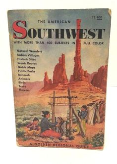 Golden Press American Southwest Guide 1960 Edition