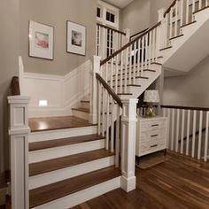 Denver Traditional Split Level Staircase Staircase Design Ideas ...