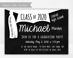 Graduation Party Invitation for a Boy, Tassel Worth the Hassle, College Graduation Invite, High Scho , 8th Grade Graduation, High School Graduation, Graduate School, Graduation Invitations College, Graduation Shirts, Wedding Reception Centerpieces, Graduation Centerpiece, Candle Centerpieces, Masquerade Theme