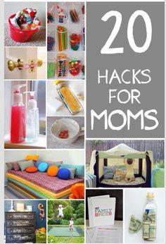 20 hacks for moms #Family #Trusper #Tip