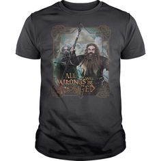 (Tshirt Coupon Today) The Hobbit Wrongs Avenged [TShirt 2016] T Shirts, Hoodies. Get it now ==► https://www.sunfrog.com/Movies/The-Hobbit-Wrongs-Avenged.html?57074