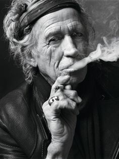 I mean some doctor told me I had six months to live ......and I went to their funeral. Keith Richards