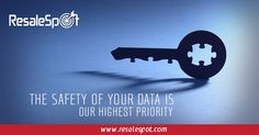 The safety of your data is our highest priority.  For more details, Please go to www.resalespot.com