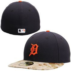 7232b1ff455 Detroit Tigers New Era Memorial Day Stars   Stripes On-Field 59FIFTY Fitted  Hat - Navy Camo
