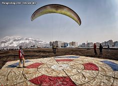Paragliding over Tehran's sky   Being one of the most pleasurable sports, paragliding has attracted many enthusiasts in Iran. This exercise is the best and simplest type of flight taking advantage of the good weather climate in Iran.    There exist different flight sites to experience paragliding as well as two local airports that they teach paragliding fanciers how to fly with ultra light airplane and other things. However, there is also some other personal for-fun aviation going on in…