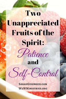Two Unappreciated Fruits of the Spirit: Patience and Self-Control Christian Faith, Christian Women, Christian Living, Bible Resources, Bible Topics, Christian Meditation, Bible Study Plans, Christian Encouragement, Encouragement Quotes